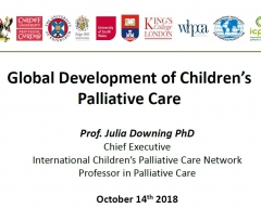 Global Development of Childrens Palliative Care